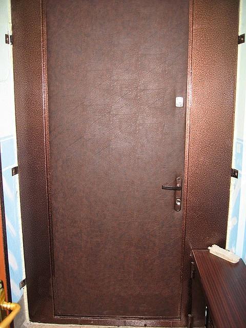 установка тамбурной металлических дверей цены