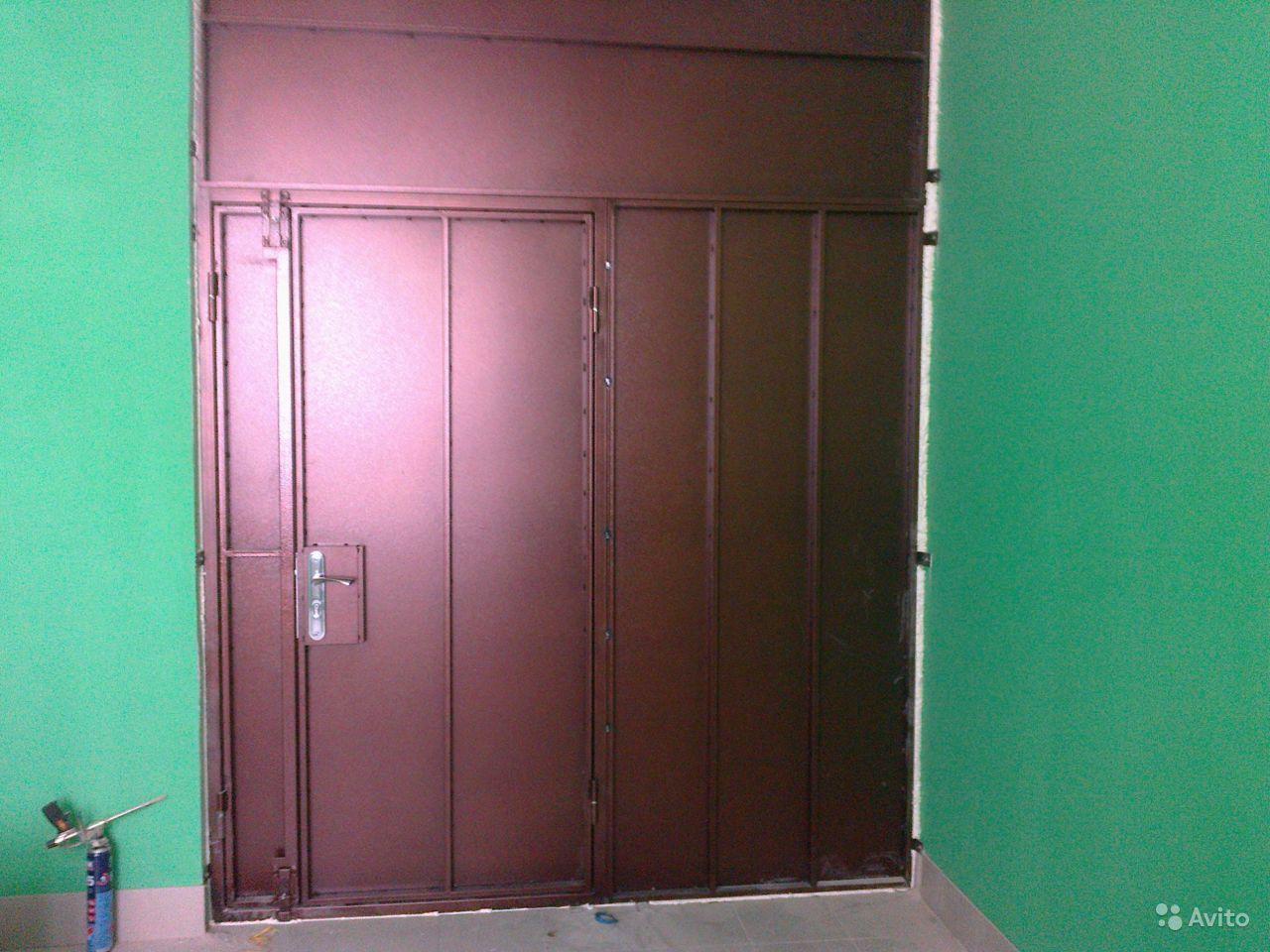 заказать дешевую железную дверь на площадку