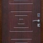 входная металлическая дверь Махагон
