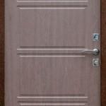 входная металлическая дверь Венге светлое