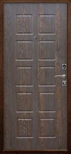 Дверь входная металлическая Шоколадный дуб