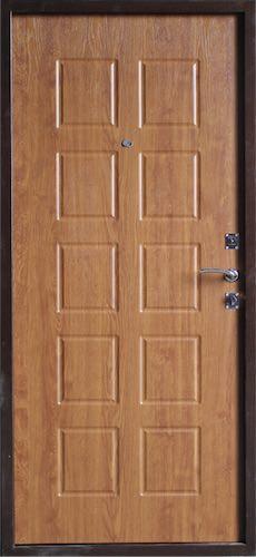 входная металлическая дверь Золотой дуб