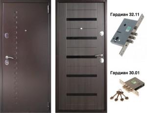 металлическая дверь Венге в Воронеже