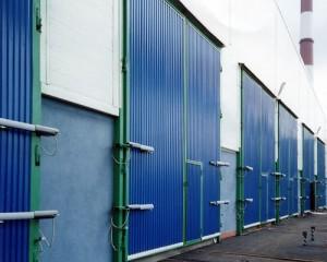 Промышленные распашные ворота в Воронеже