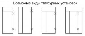 Установка тамбуров в Воронеже