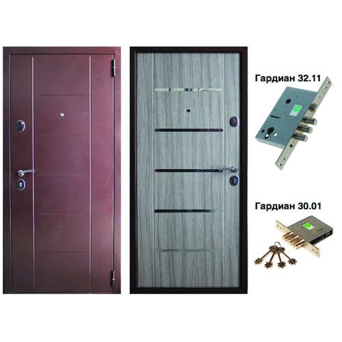 входная стальная дверь под ключ
