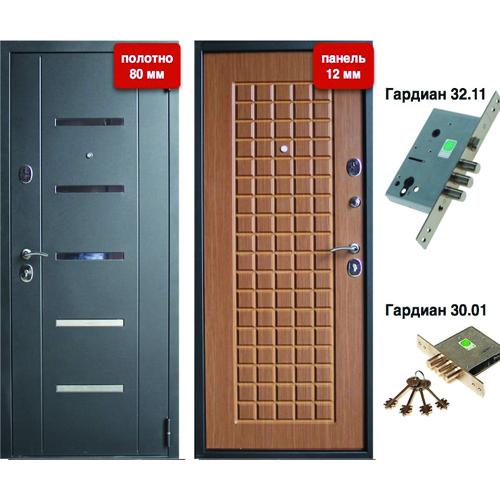 металлическая дверь под ключ